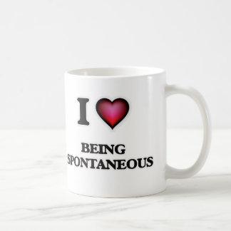 I love Being Spontaneous Coffee Mug