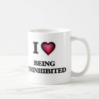 I love Being Uninhibited Coffee Mug