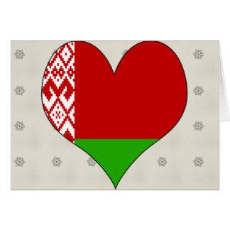 I Love Belarus Card