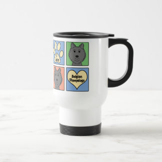 I Love Belgian Sheepdogs Travel Mug