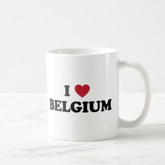I Love Belgium Coffee Mug