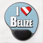 I Love Belize Diving Gel Mouse Pad