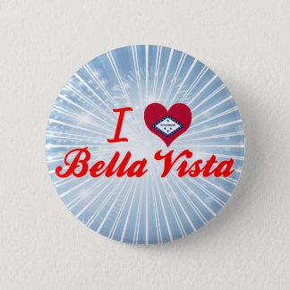 I Love Bella Vista, Arkansas 2 Inch Round Button