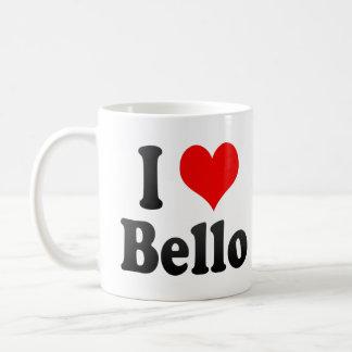 I Love Bello, Colombia Coffee Mug