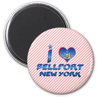 I love Bellport, New York Magnet