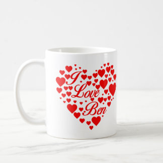 I Love Ben Carson Coffee Mug