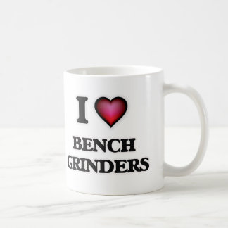 I Love Bench Grinders Coffee Mug