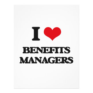 I love Benefits Managers Full Color Flyer