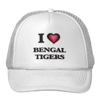 I Love Bengal Tigers Trucker Hat