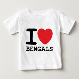 I Love Bengals Shirt