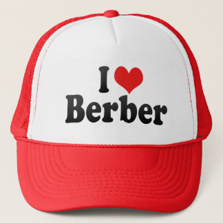 I Love Berber Trucker Hat