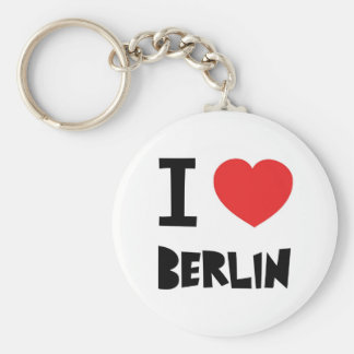 I love Berlin Keychain