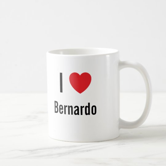 I love Bernardo Coffee Mug