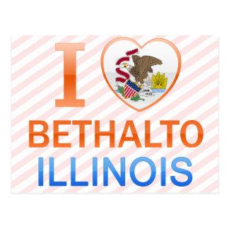 I Love Bethalto, IL Postcard