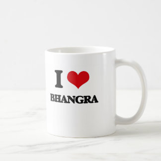 I Love BHANGRA Coffee Mug