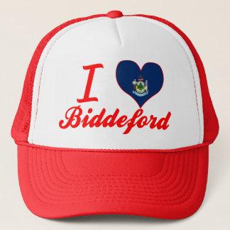 I Love Biddeford, Maine Trucker Hat