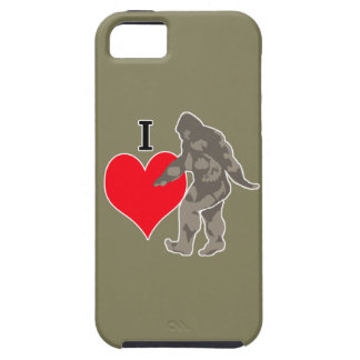 I LOVE BIGFOOT 1 CASE FOR THE iPhone 5