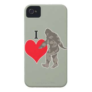 I LOVE BIGFOOT 1 iPhone 4 COVER