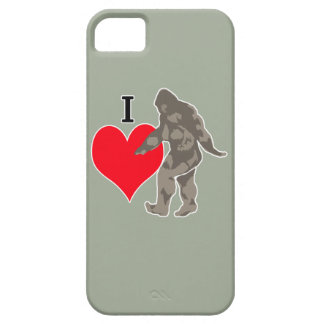I LOVE BIGFOOT 1 iPhone 5 CASE