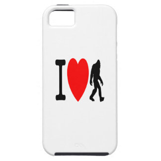 I LOVE BIGFOOT CASE FOR THE iPhone 5
