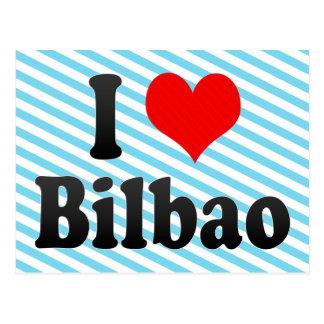 I Love Bilbao, Spain Postcard
