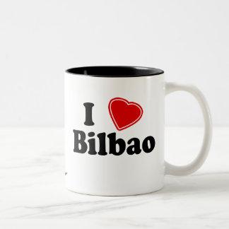 I Love Bilbao Two-Tone Coffee Mug