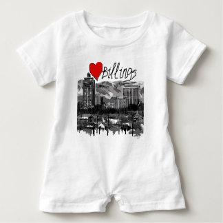 I love Billings Baby Romper