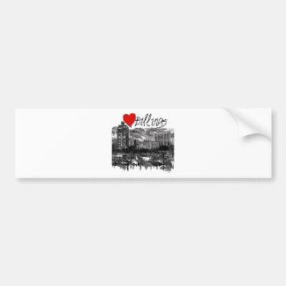 I love Billings Bumper Sticker