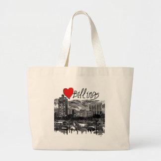 I love Billings Large Tote Bag