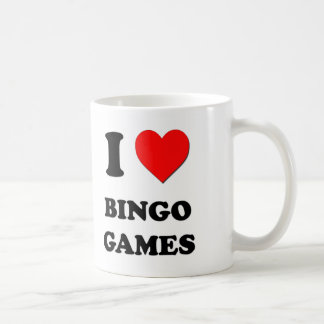 I Love Bingo Games Coffee Mug
