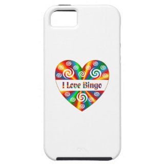 I Love Bingo iPhone 5 Cases