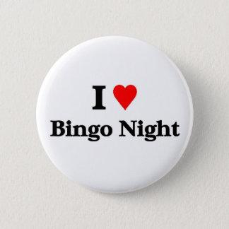 I love bingo night 2 inch round button