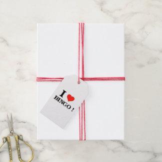 I_Love Bingo Pack Of Gift Tags
