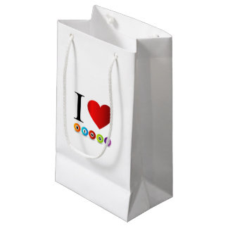 I love bingo small gift bag