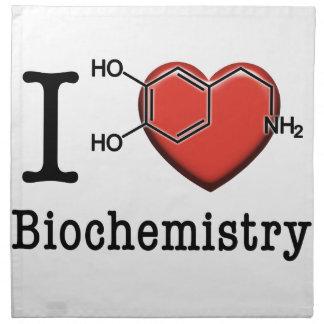 I Love Biochemistry Napkin