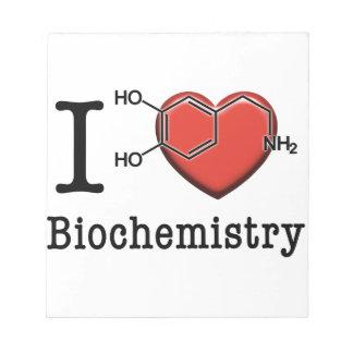 I Love Biochemistry Notepad