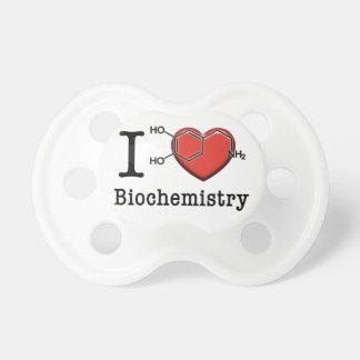 I Love Biochemistry Pacifier