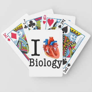 I Love Biology Bicycle Playing Cards
