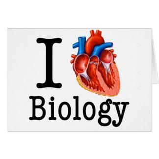 I love Biology Card