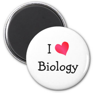 I Love Biology Magnet
