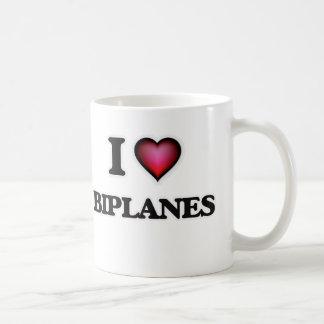 I Love Biplanes Coffee Mug