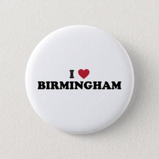 I love Birmingham Alabama 2 Inch Round Button