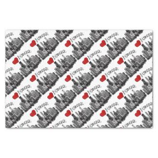 I love Bismarck Tissue Paper