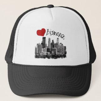 I love Bismarck Trucker Hat