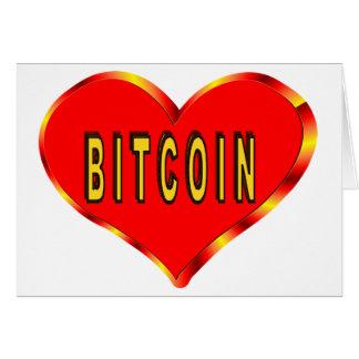 I Love Bitcoin Card