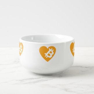 I Love Bitcoin Soup Mug