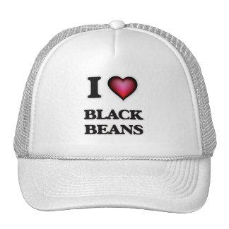 I Love Black Beans Trucker Hat