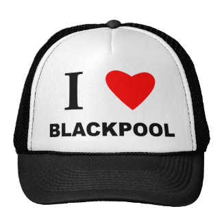I Love Blackpool. Trucker Hat