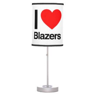 i love blazers table lamp