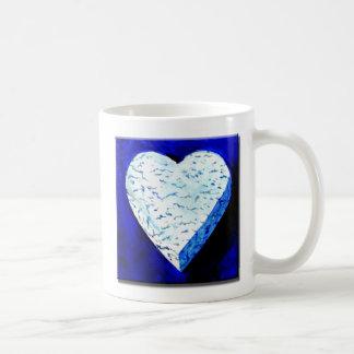 I Love Bleu Cheese Classic White Coffee Mug